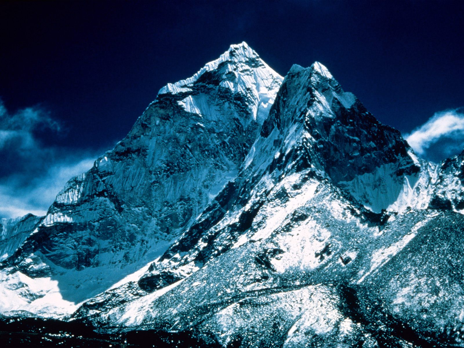 Everest everest is the highest mountain in the world with