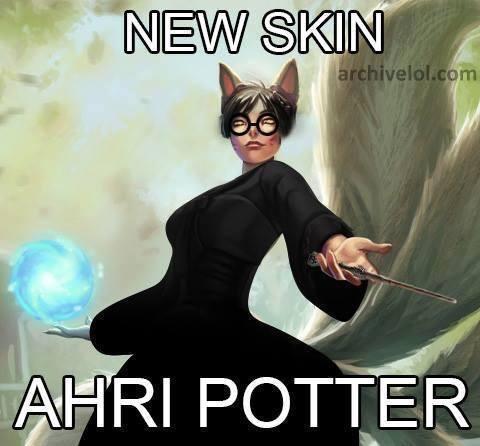Nova skin da Ahri