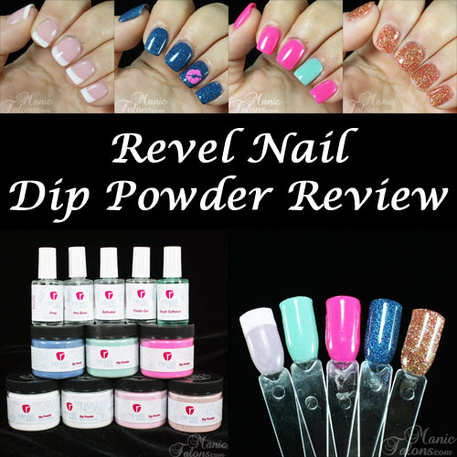 Acrylic Nail Systems: Manic Talons Nail Design: Review: Revel Nail Dip Powders