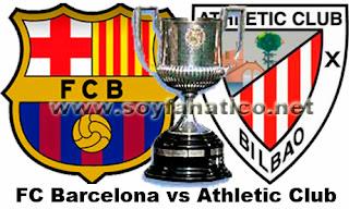 Barcelona vs Athletic Bilbao por Copa del Rey