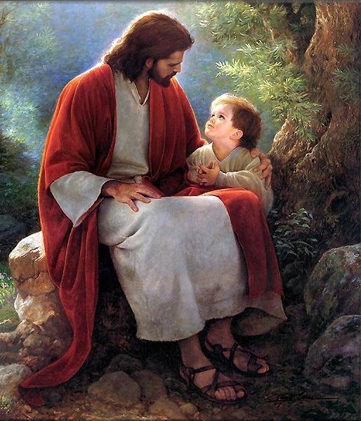 Jesus e as criancinhas, pureza da criança pra entrar no reino de Deus