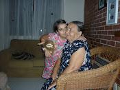 minhas duas princesas,te amo mãe!!!