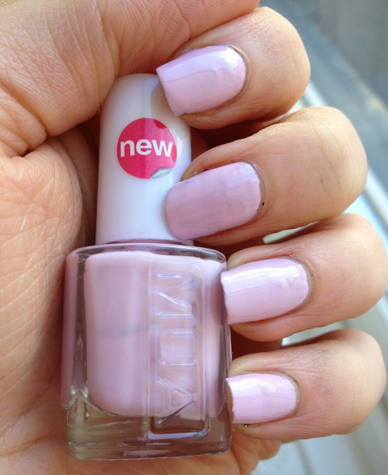 Glitter In The Gutter: MUA Nail Polish: Lush Lilac Swatch and Review