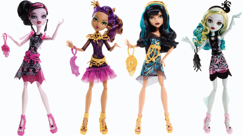 Black Carpet Hauntlywood Monster High Dolls Draculaura