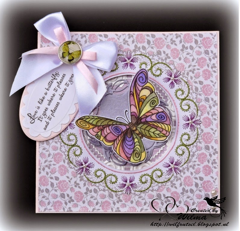 Wil frutsel vlinderkaart - Deco buitenkant idee ...