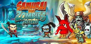 Game Android: Samurai vs Zombies Defense