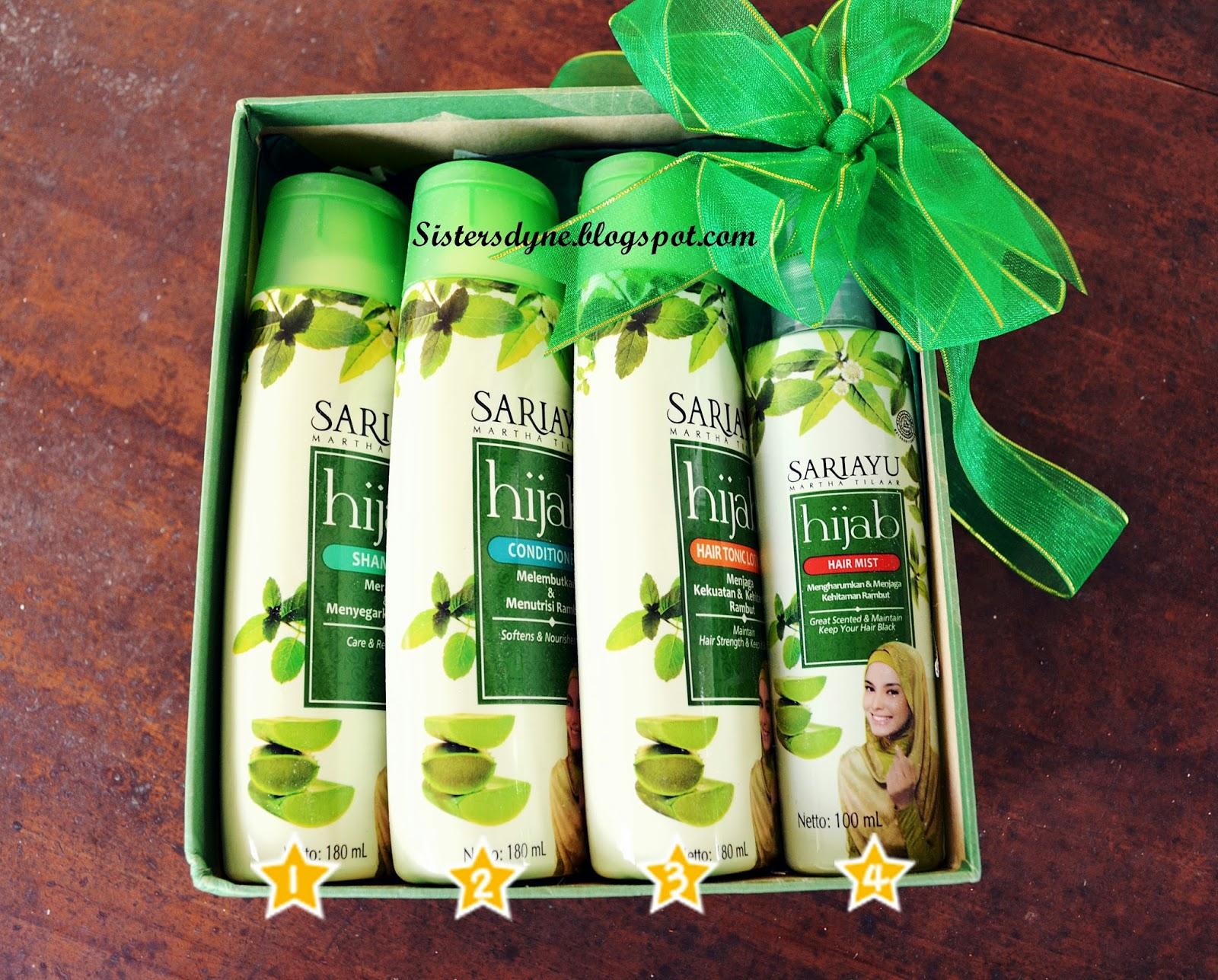 Da Sisters Blog Review Hair Treatment Bersama Sariayu Hijab Sari Ayu Shampoo Fall 180ml Step By