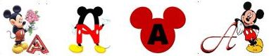 Mickey Alphabets