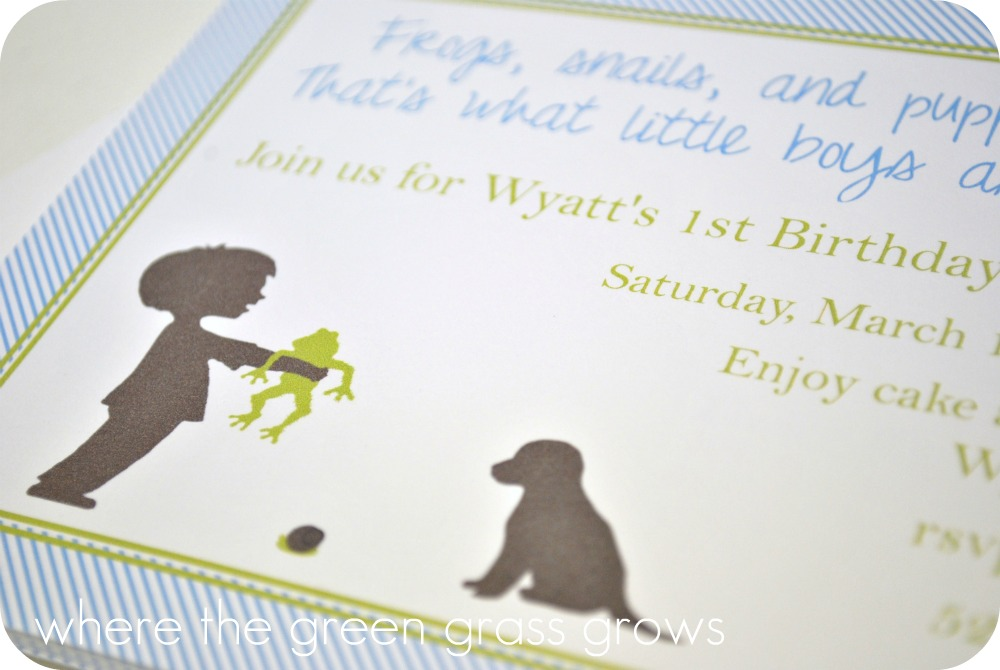 Where The Green Grass Grows Designs Frogs Snails And Puppy Dog