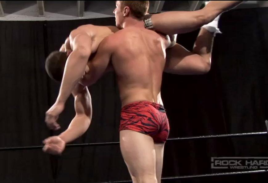 Muscled Stud Slams Dude