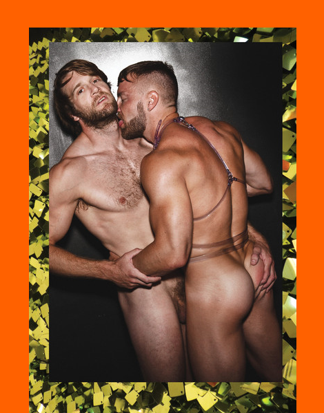 Colby Keller and Will Wikle by Gabe Ayala