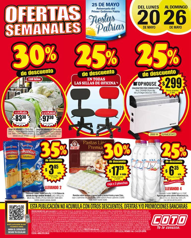 Ofertas y promos en argentina ofertas semanales en coto - Hogarium catalogo de ofertas ...