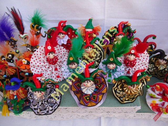 Creatividad y artesan a bufones y arlequines para - Mercerias en alicante ...