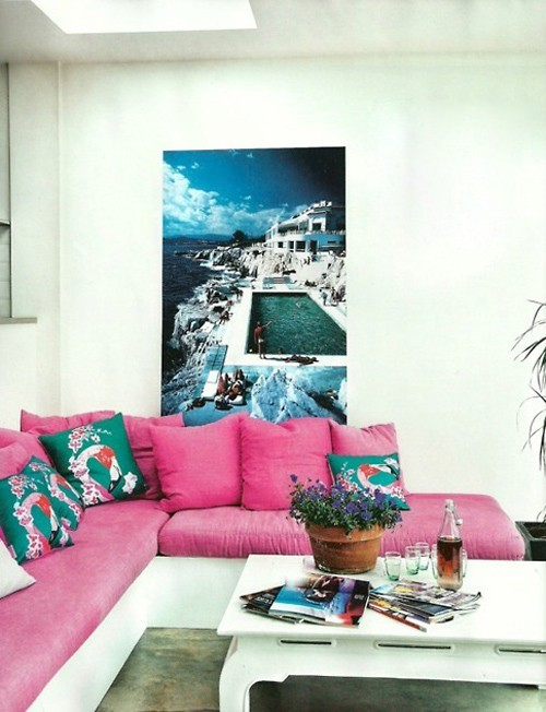 Decore Living Room White
