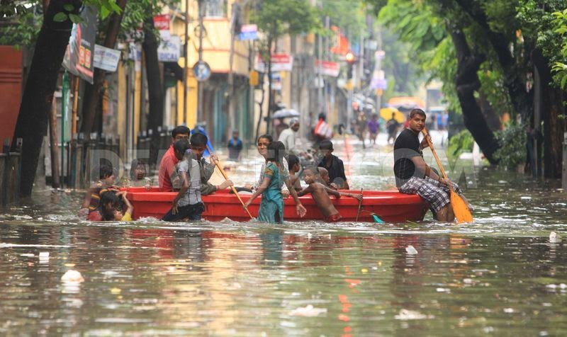 """Regional Sea-level Rise"", in Kolkata is expected to reach 25 cm by the 2030s–40s."