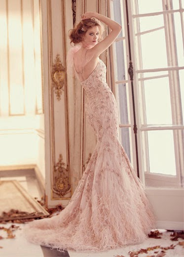 WEDDING DRESSES BY LAZARO FOR SPRING 2015