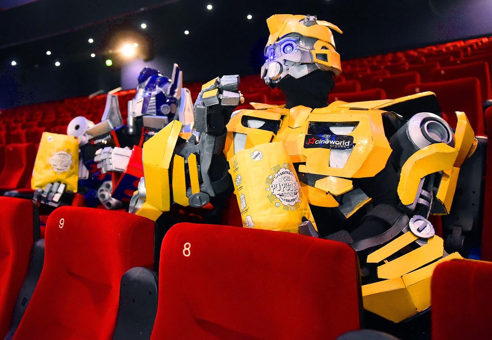 transformers cineworld