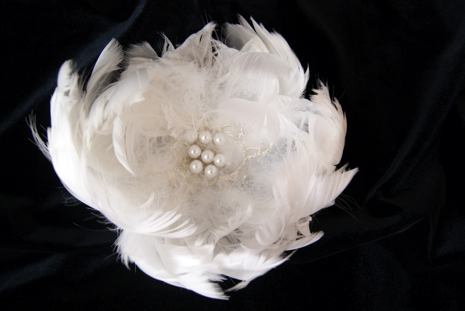 Handmade bridal and wedding jewelry by vintage touch handmade each crochet piece in this brooch is unique because its impossible to reproduce another one that is exactly identical mightylinksfo