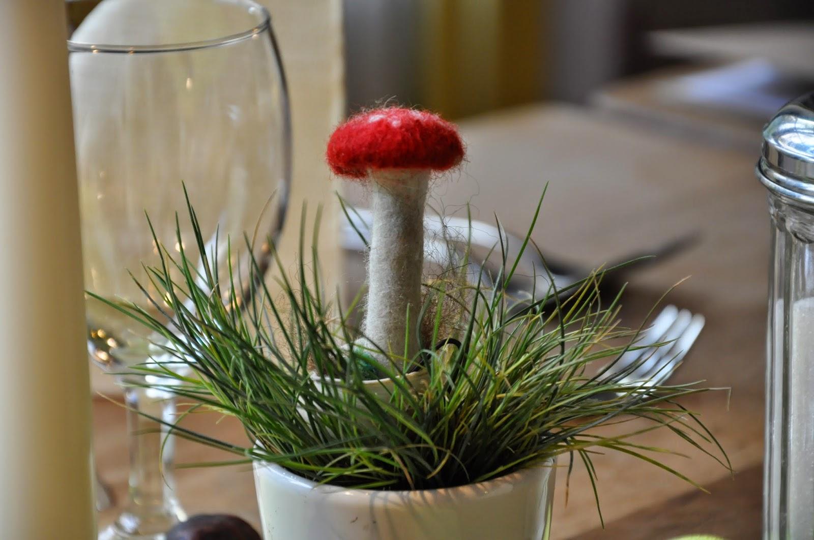 Bin im garten tischdekoration pilze - Dekoration pilze ...