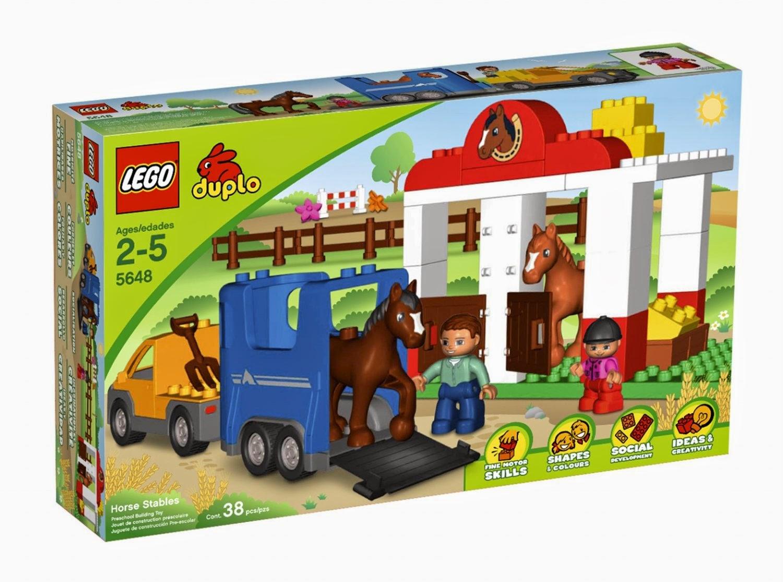 Đồ Chơi Xếp Hình Lego Nông Trại Chuồng Ngựa 5648