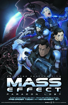 Paragon Lost Poster Mass Effect: Paragon Lost   BRRip AVI + RMVB Legendado