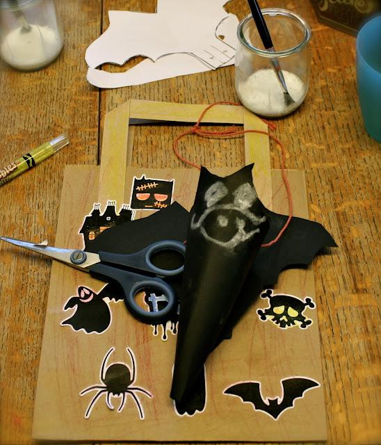 paper bat sweetie cone