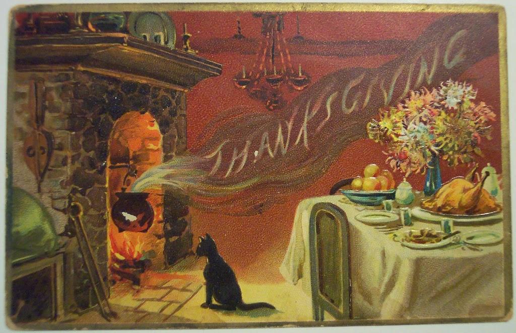 Happy Thanksgiving! ~ Life in Random Bits #thanksgiving #vintage