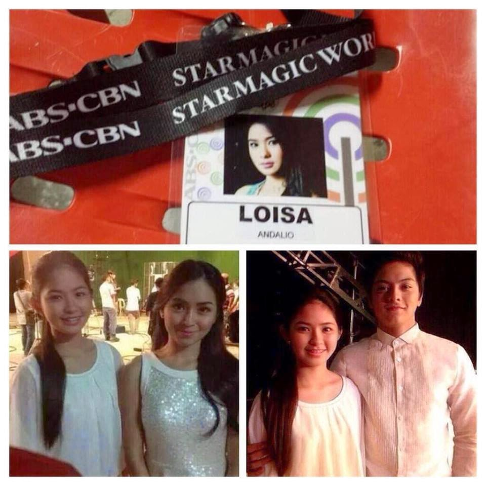Photo reveals PBB housemate Loisa had met KathNiel prior to KathNiel's visit in PBB house