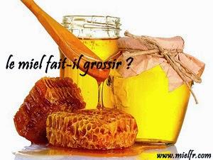 le miel fait-il grossir