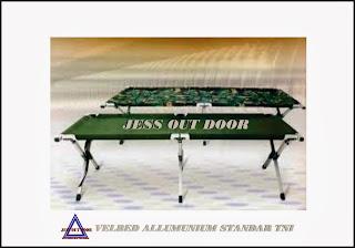 Pabrik, Tempat, Produksi, Pembuat folding bed/ velbed allumunium tenda
