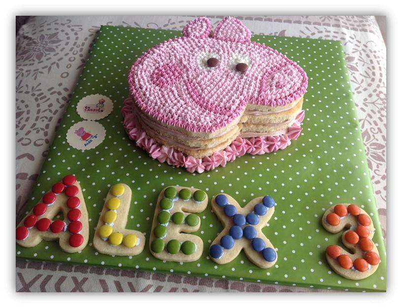 Encandyla: cumpleaÑos parte ii: tarta peppa pig