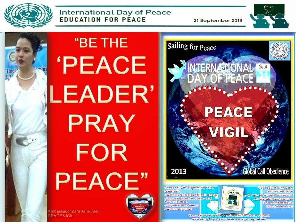 PEACE VIGIL 2014