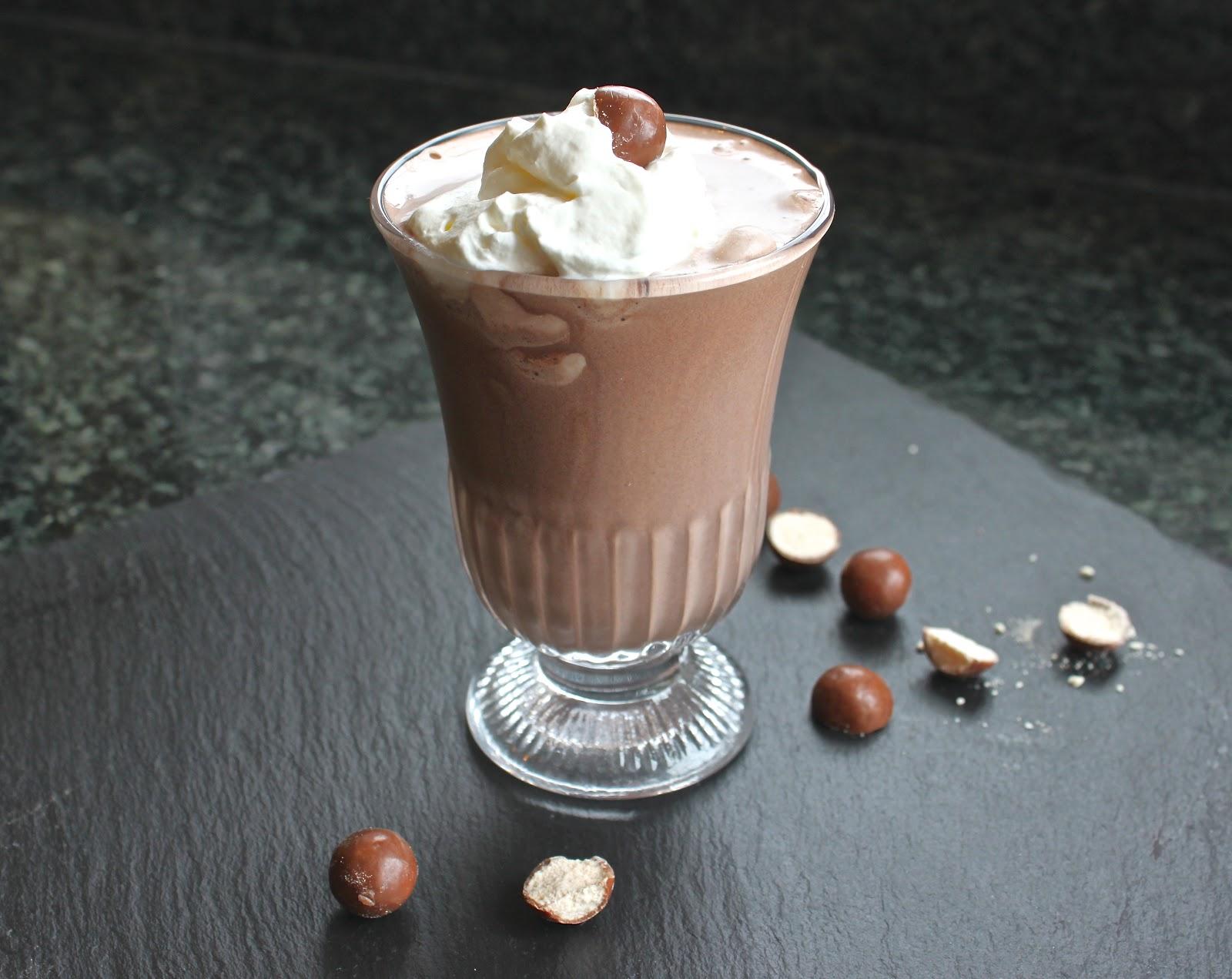 Malted Chocolate Milkshake Recipe — Dishmaps