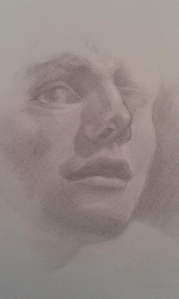 retrato de un hombre