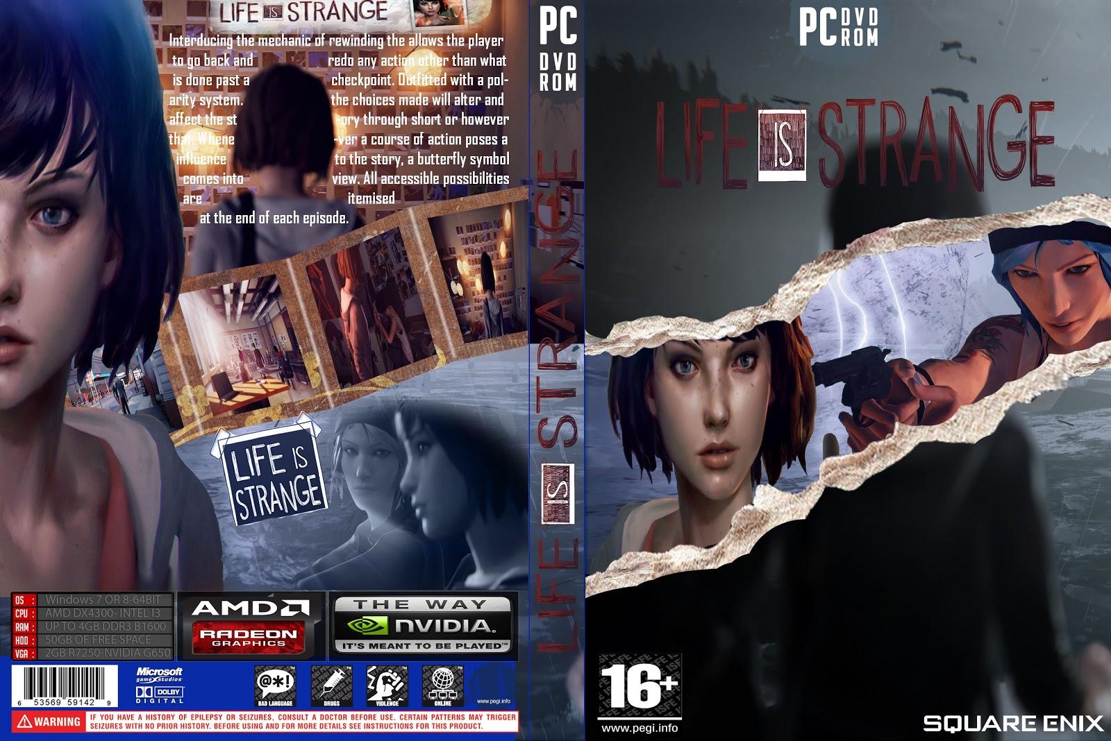 Capa Life Is Strange PC