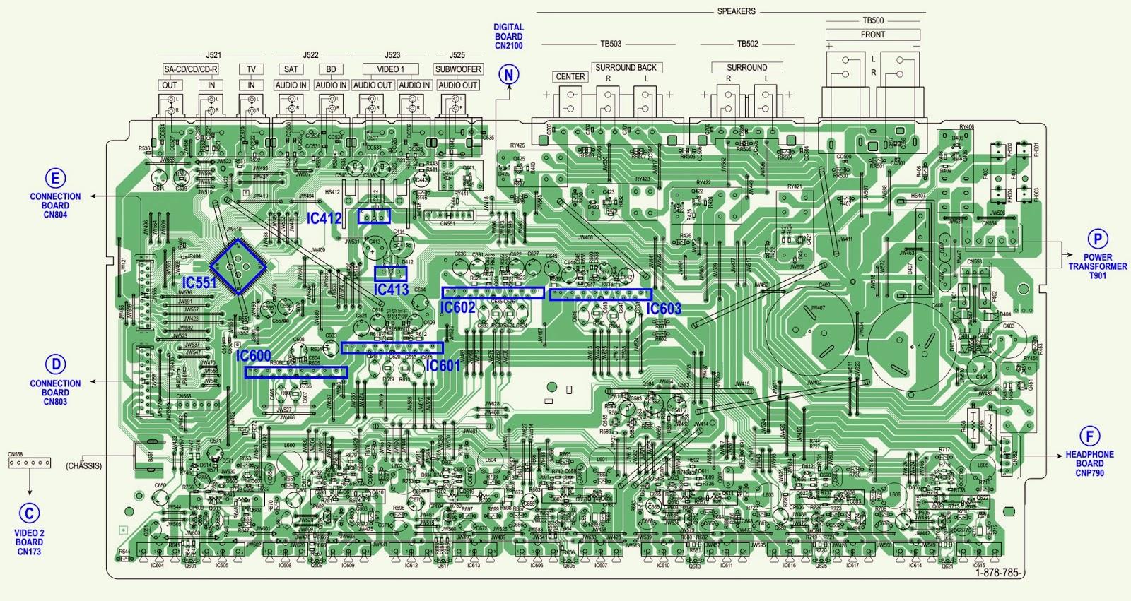 Sony Str Km7600 Australia Main Board moreover Anthropogenic Air Pollution Sources additionally Domestic Refrigerator Parts likewise Mfj 259b calibration also Consejos Para Principiantes I. on troubleshooting diagram