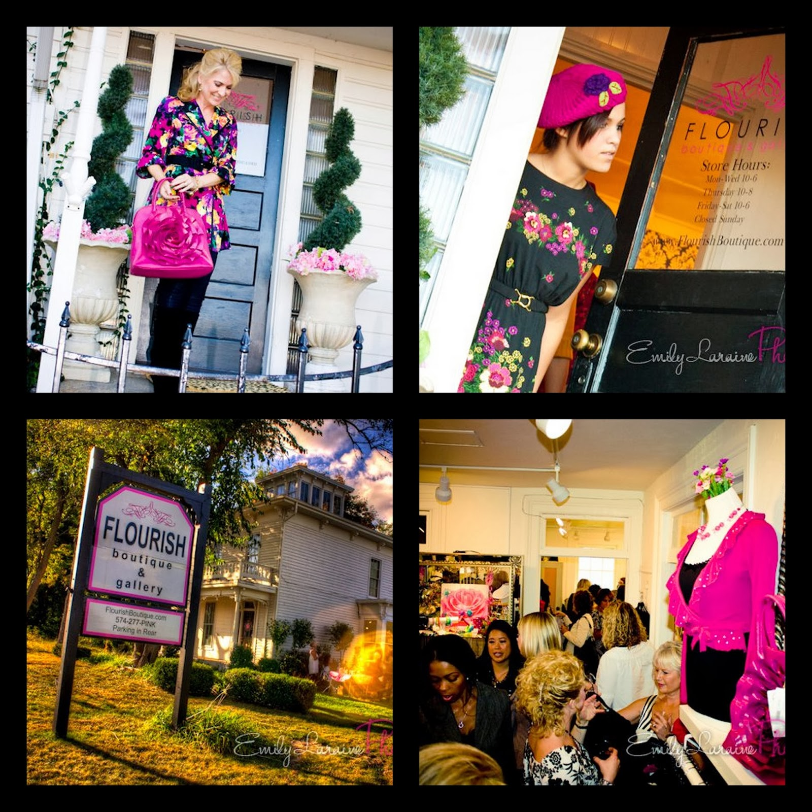 fall fashion show flourish boutique