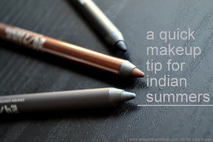 Quick Easy Summer Eye Makeup Eyeliner Tip For Indian Summers Beauty Blog