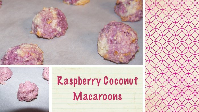 Gluten Free Raspberry Coconut Macaroons - So Easy! | GF Mom Certified ...