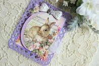 ウサギのカード