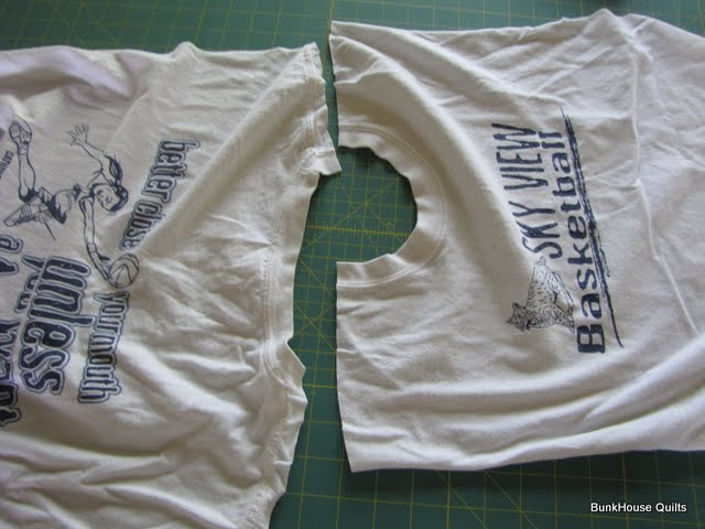 quilting in the bunkhouse t shirt quilt tutorial