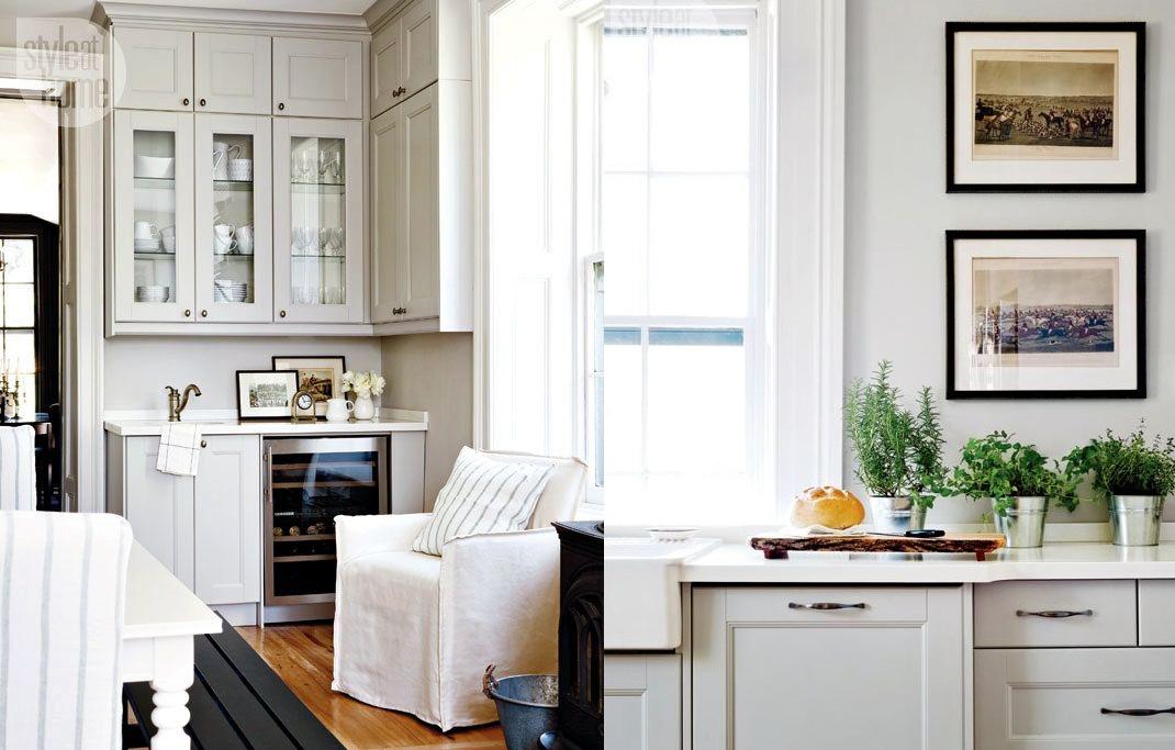 Trasformazione di una cucina shabby chic interiors - Cucina shabby chic ...