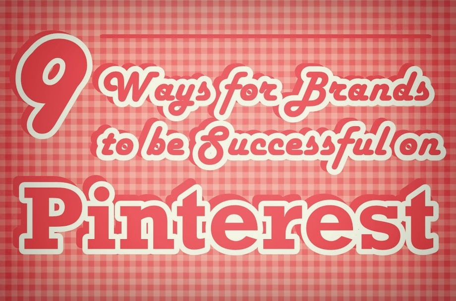 How Brands can be Successful on Pinterest [INFOGRAPHIC]