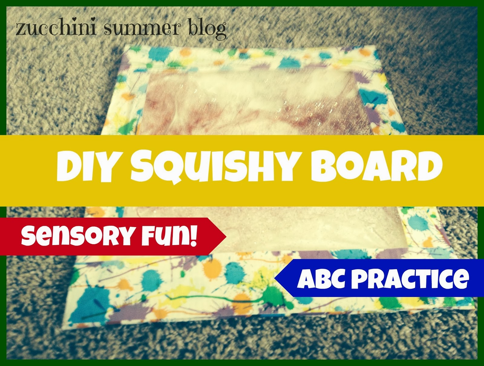 sensory experiences, diy kids fun, entertain kids in car