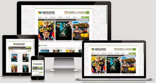 Moviexpose Responsive Blogger Template Free Download