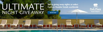 Ultimate Night Giveaway Club Carlson Park Plaza Promotion
