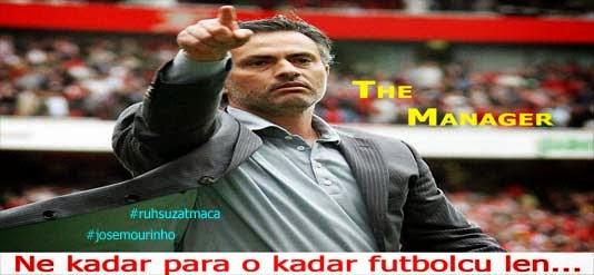 Jose Mourinho manjer