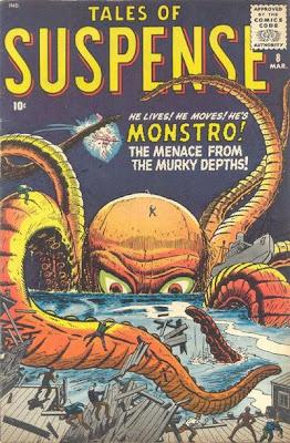 Tales of Suspense #8, Monstro