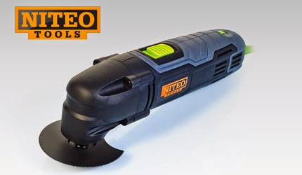 Wielofunkcyjne narzędzie oscylacyjne Niteo Tools z Biedronki