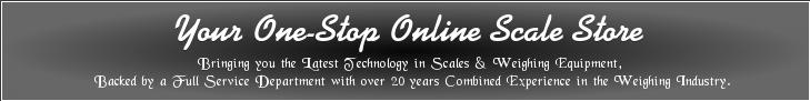 Your One-Stop Online Scale Store